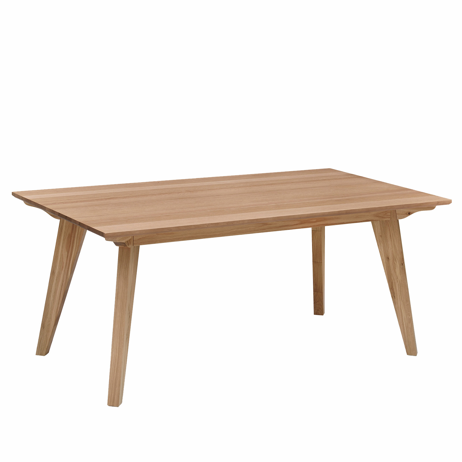Alison White Oak Natural Veneer Dining Table Modern Design