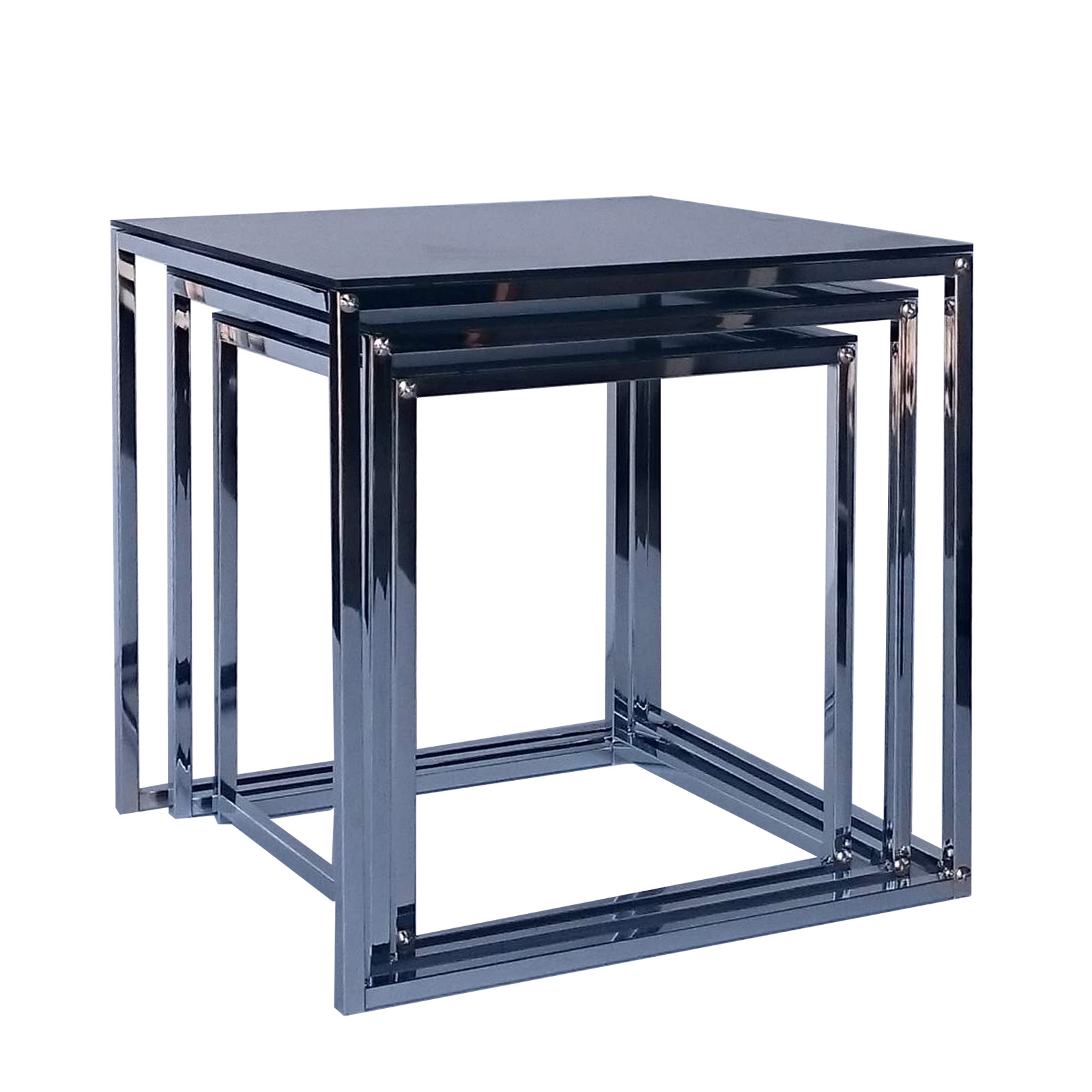 Mier Table Glass Top My Nest