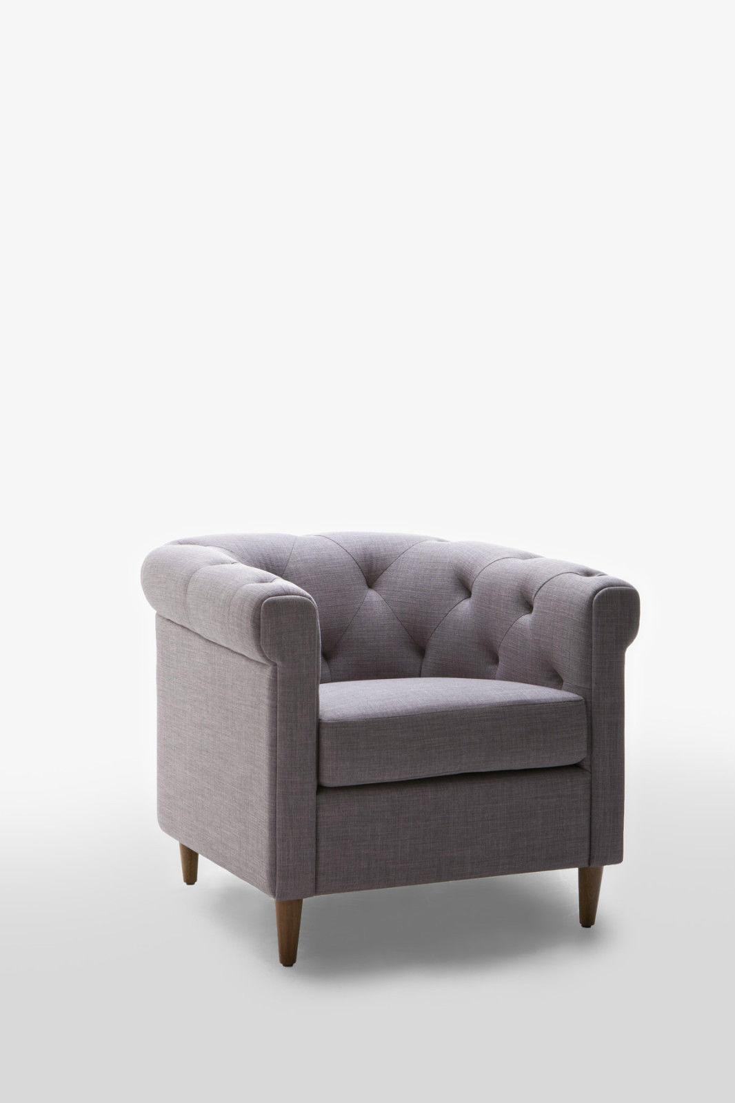 Cube Brand New Modern Designer Replica Fabric Armchair